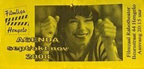 2008-2009 Filmliga Hengelo periode 1 september - november