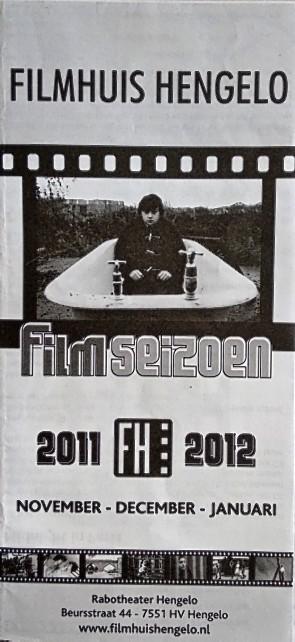 2011-2012 Filmhuis Hengelo periode 2 november - januari