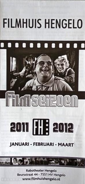 2011-2012 Filmhuis Hengelo periode 3 januari - maart