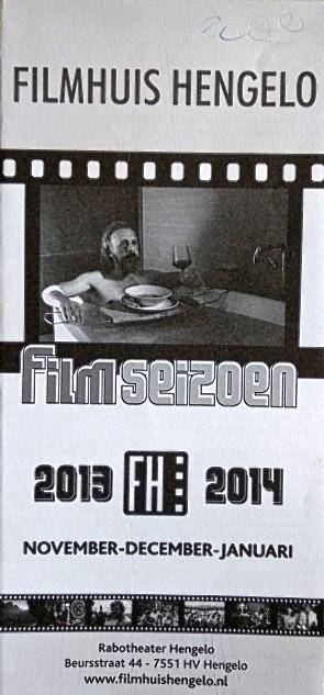 2013-2014 Filmhuis Hengelo periode 2 november - januari