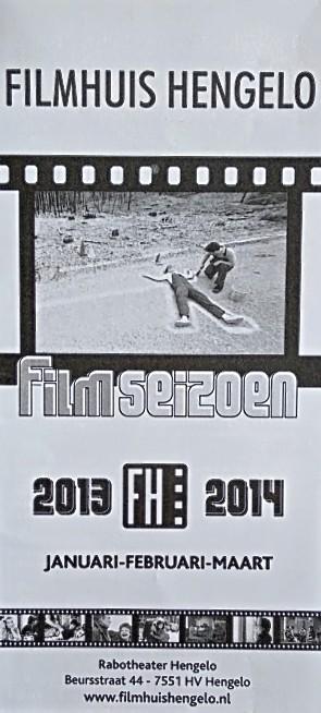 2013-2014 Filmhuis Hengelo periode 3 januari - maart