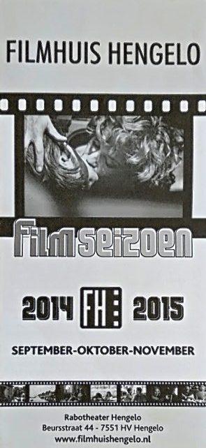 2014-2015 Filmhuis Hengelo periode 1 september - novermber
