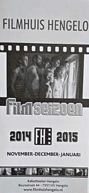 2014-2015 Filmhuis Hengelo periode 2 novermber - januari