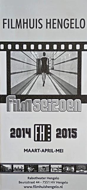 2014-2015 Filmhuis Hengelo periode 4 maart - mei