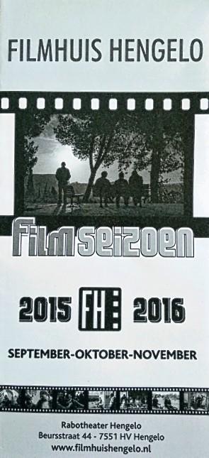 Filmhuis Hengelo seizoen 2015-2016 periode 1