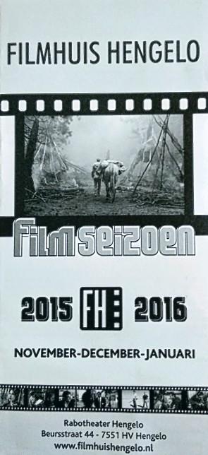 Filmhuis Hengelo seizoen 2015-2016 periode 2