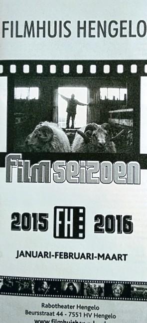 Filmhuis Hengelo seizoen 2015-2016 periode 3