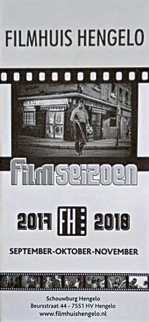 2017-2018 Filmhuis Hengelo periode 1 september - november