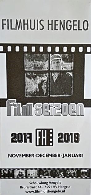 2017-2018 Filmhuis Hengelo periode 2 november - januari
