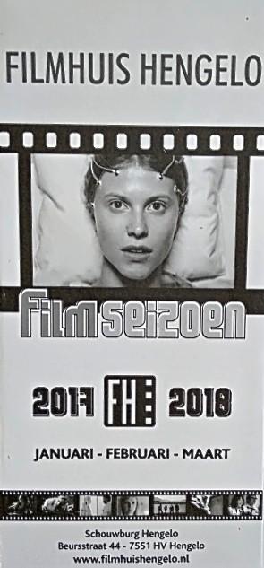 2017-2018 Filmhuis Hengelo periode 3 januari - maart