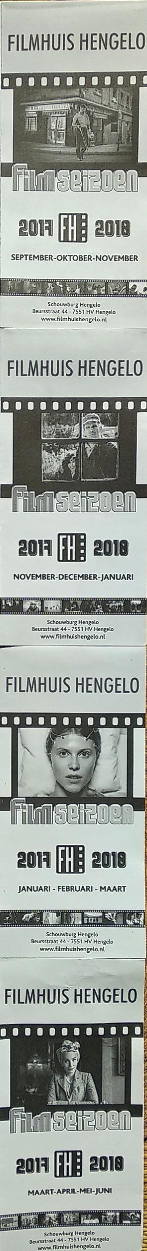 Filmhuis Hengelo Seizoen 2017-2018